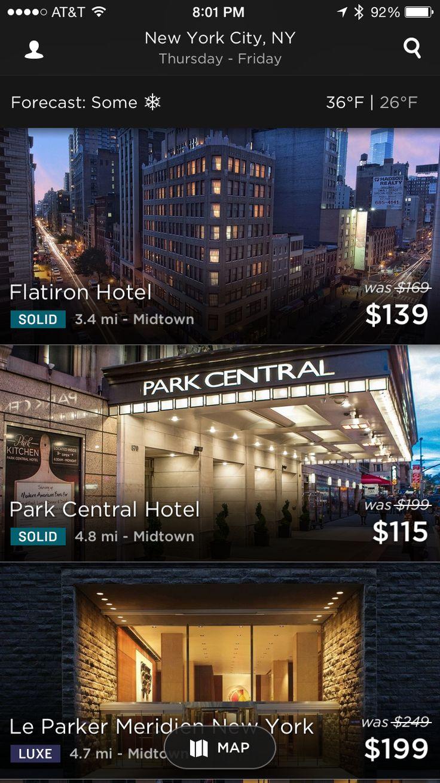 Lists Screenshots :: Mobile Patterns