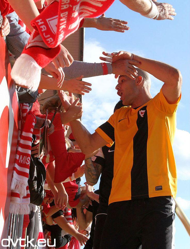 Ivan Radoš a Honvéd elleni mérkőzésen beállította Tamás Gyula négy találkozós góltalansági csúcsát