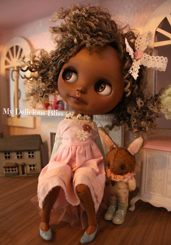 Harper One Of A Kind Beautiful Brown Blythe by MyDeliciousBliss