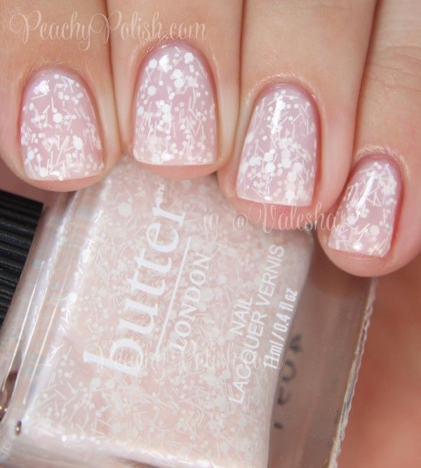 Butter London Doily | Sweet Somethings Collection | Peachy Polish - and I don't usually like bars. :)