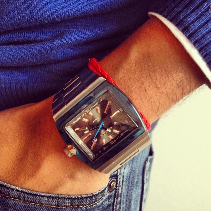 Silver/Blue Watch!!
