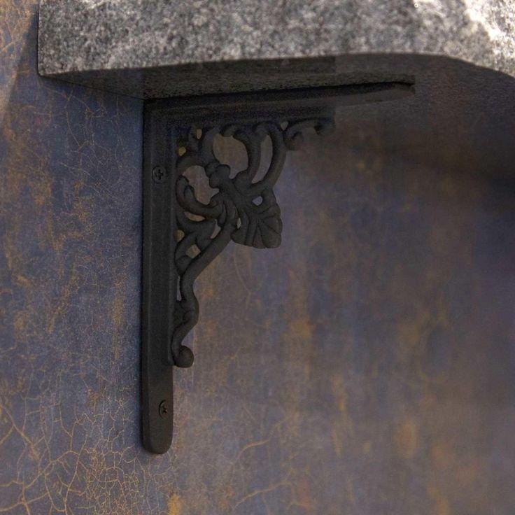 15 best decorative shelf brackets images on pinterest. Black Bedroom Furniture Sets. Home Design Ideas