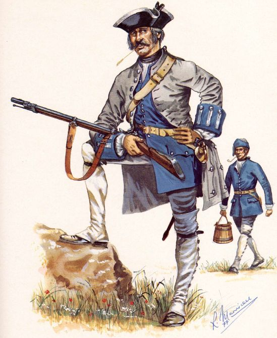 SYW- France: French Regiment Bearn, 1757-1760, by R. Marrion.