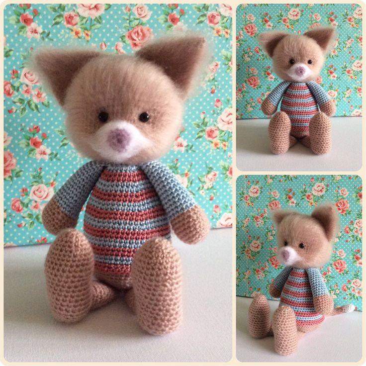 Little fluffy kitten made by Kriziwizi