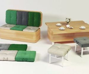 Lovely Convertible Sofa, As Its Name Suggests, Is A Transforming Furniture That  Turns Into A