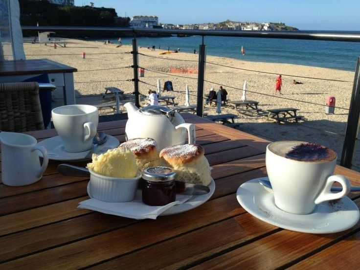 Cream tea from Porthminster Cafe, St Ives