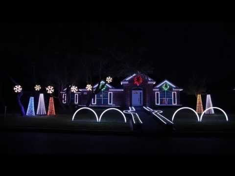 Delightful 2015 Johnson Family Dubstep Christmas Light Show   Featured On ABCu0027s The  Great Christmas Light Fight