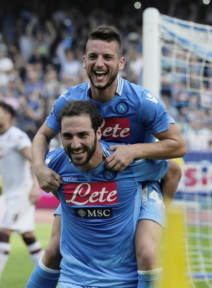 Dries Mertens, Gonzalo Higuain....two reasons I love Napoli