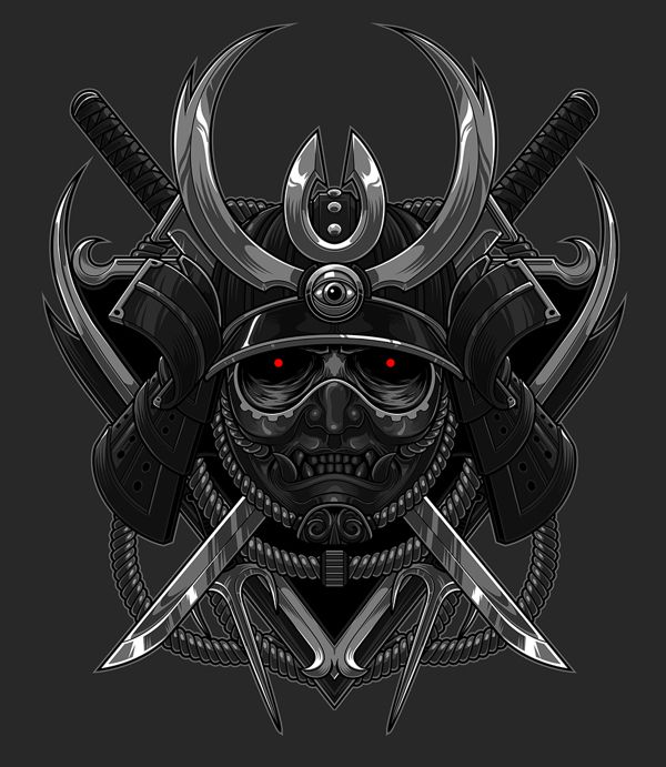 Kick-ass Illustrations by Blackout Brother   Abduzeedo Design Inspiration