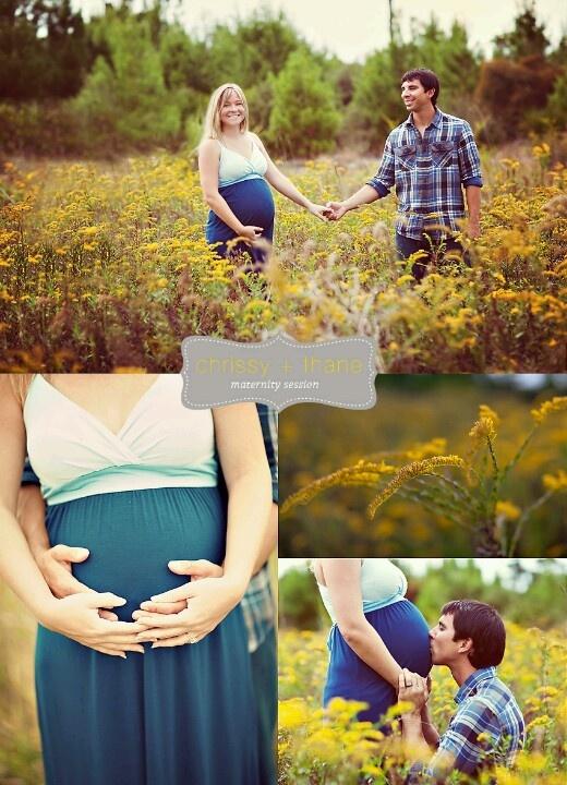 Pretty pregnancy photo