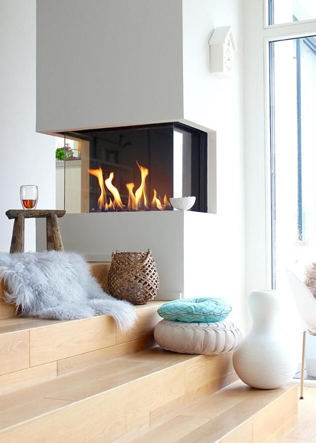 47 best Kamin \ Feuerstelle images on Pinterest Fire places - wohnzimmer kamin design