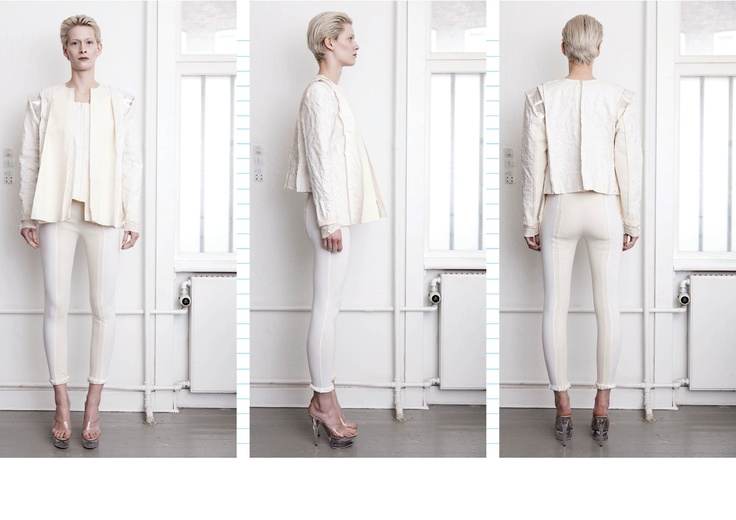 AW12 // WHITE // LOOK 01