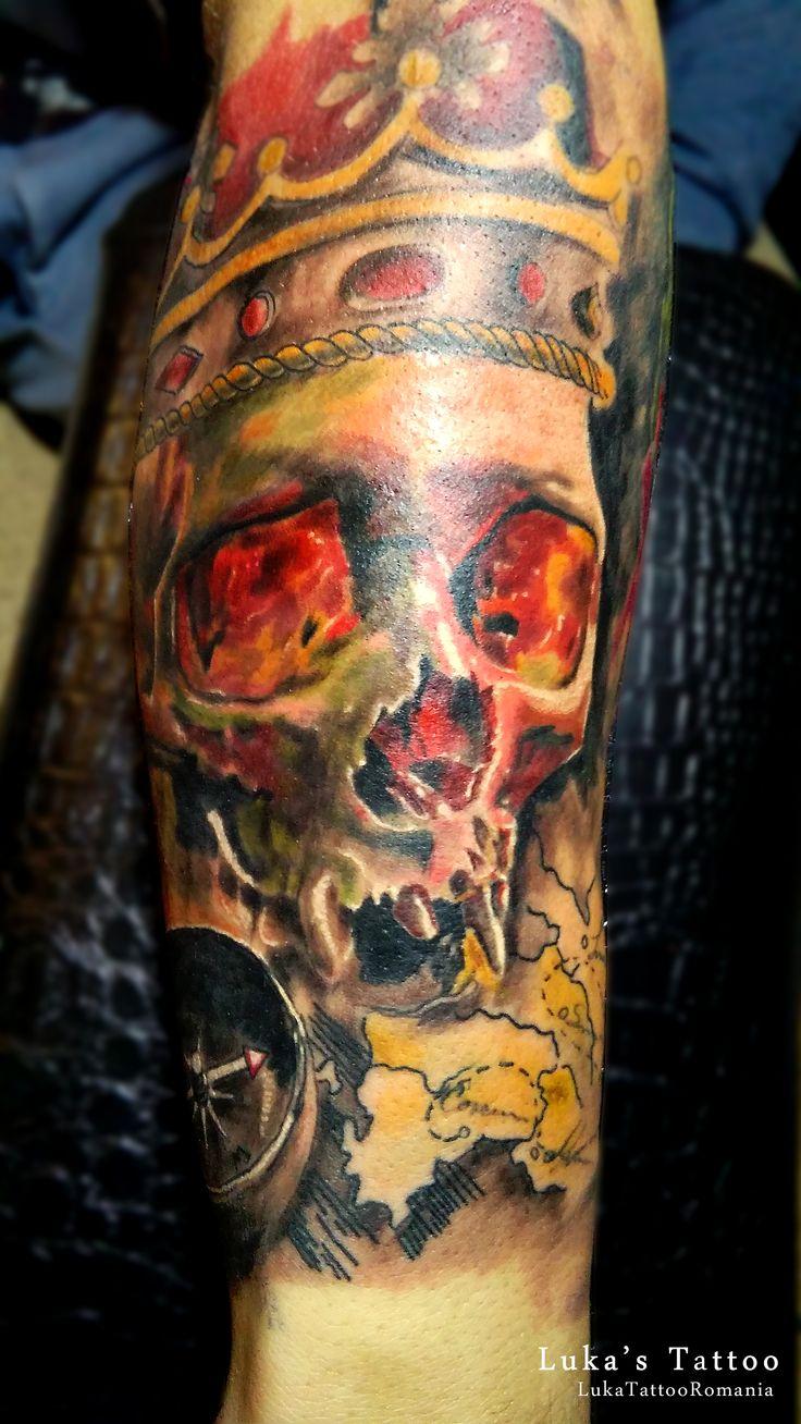 Tatuaje cu cranii! Tatuaje Realizate in Romania