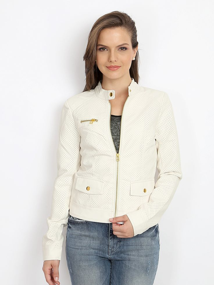 Vero-Moda-Women-White-Jacket