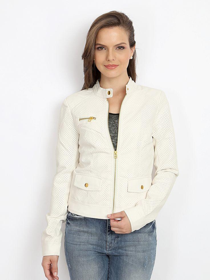 Vero-Moda-Women-White-Jacket