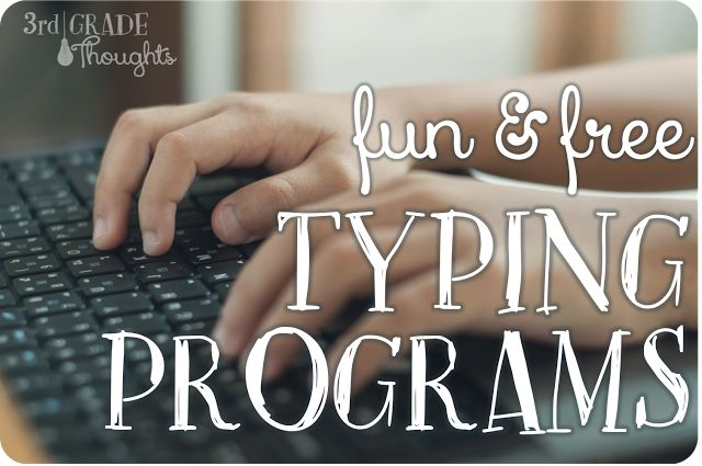 3rd Grade Thoughts - Fun and Free Typing Programs