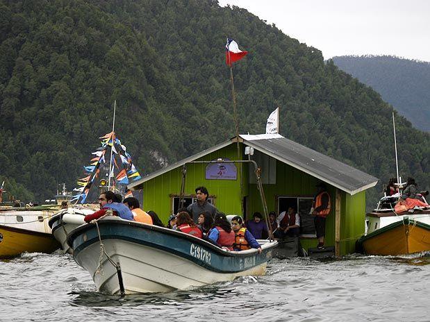 minga o tiradura de casa en chiloe #chile