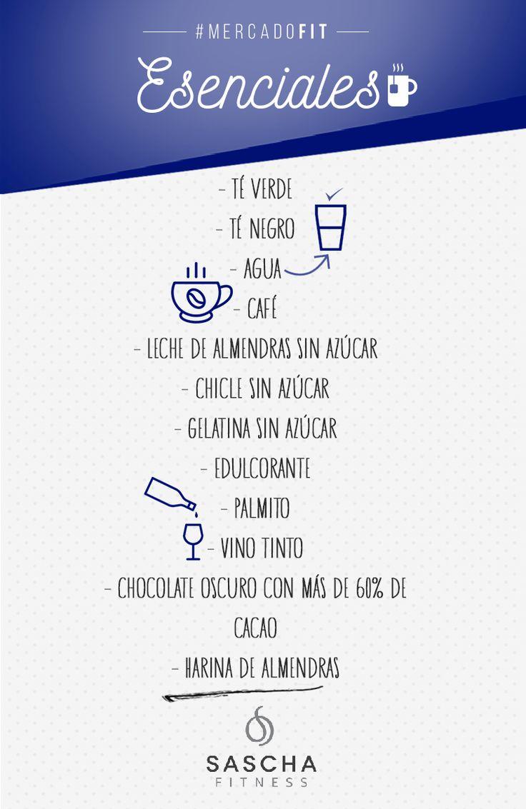 Más Recetas en https://lomejordelaweb.es/ | LISTA DE MERCADO FIT: ESENCIALES - www.saschafitness.co