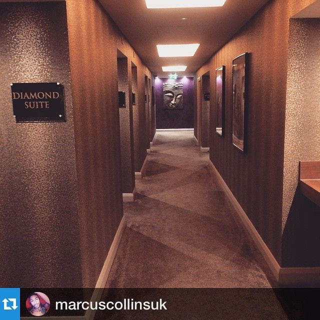 #Repost @marcuscollinsuk back at our #spa today being pampered! ☺️