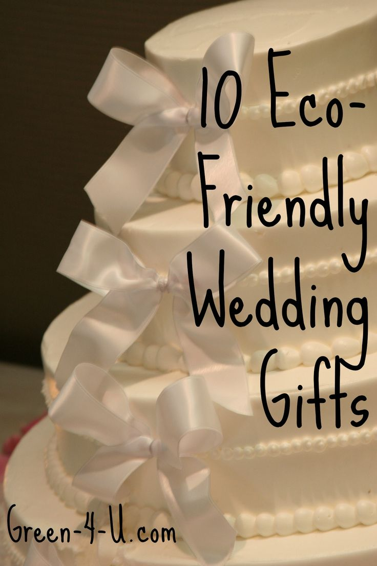 eco friendly wedding gift guide