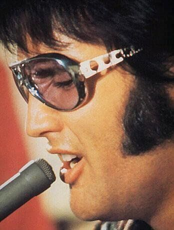 Elvis Presley in sunglasses. Sanctuary Cove Optical www.sanctuarycoveoptical.com.au