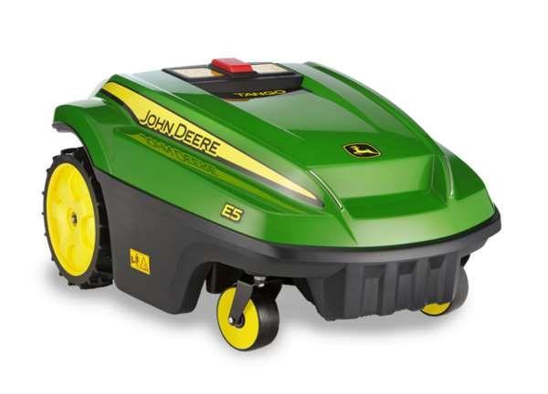 The John Deere Tango E5 Mower Can Trim the Lawn in the Rain trendhunter.com