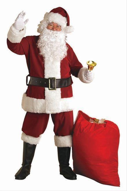 8b78a61194219 Super Dlx Santa Claus Suit XXL | Christmas | Santa dress, Santa ...