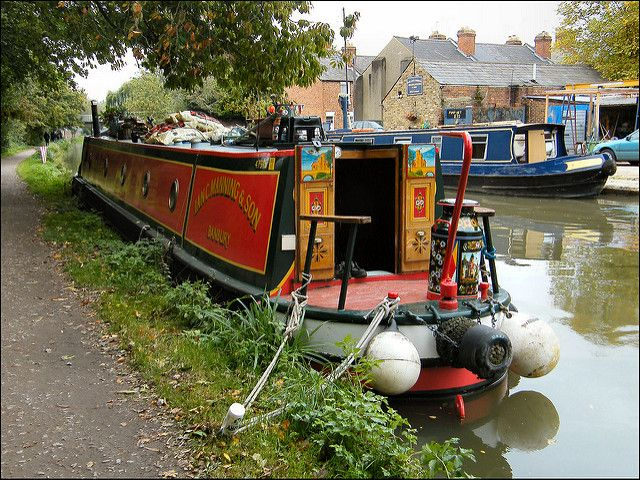 Oxford Canal at Jericho...♔..
