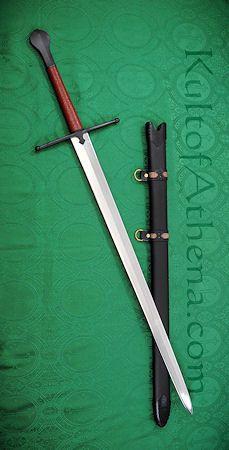 Bastard Sword - Brown Grip
