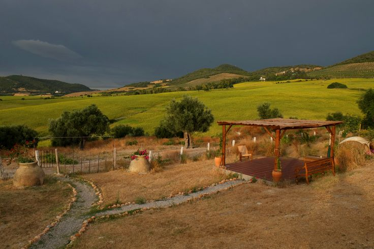 What a gorgeous stormy day. A view from the office! #Suryalila Retreat Centre