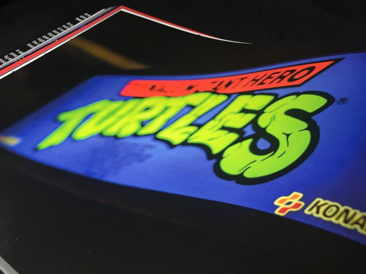 Teenage Mutant Ninja Turtles - Book available here: http://www.funstockretro.co.uk/artcade-classic-arcade-game-art-book