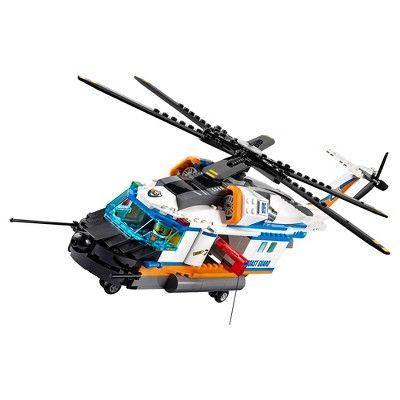 Lego City Coast Guard Heavy-duty Rescue Helicopter 60166