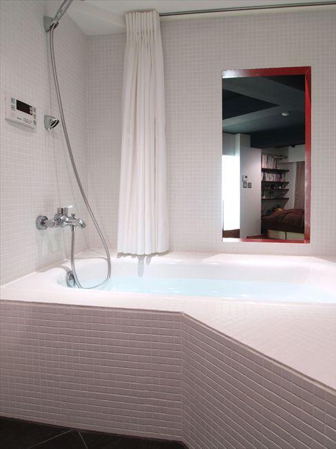 風呂場のエプロン