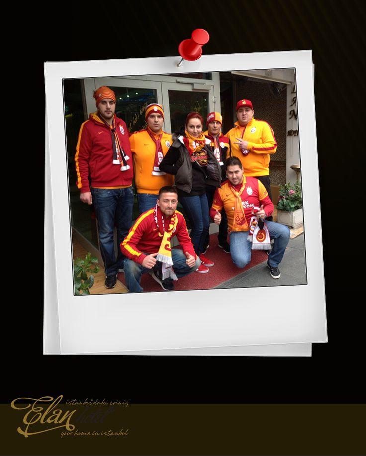 Almanya'dan gelen Galatasaray grubumuz :)