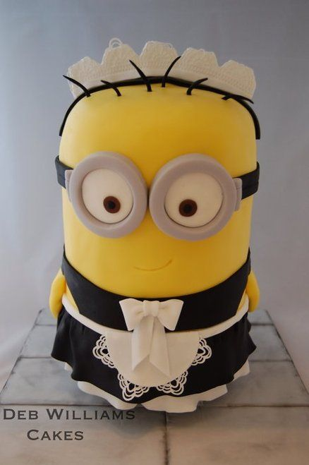 Despicable Me 2 Cake - Minion Phil
