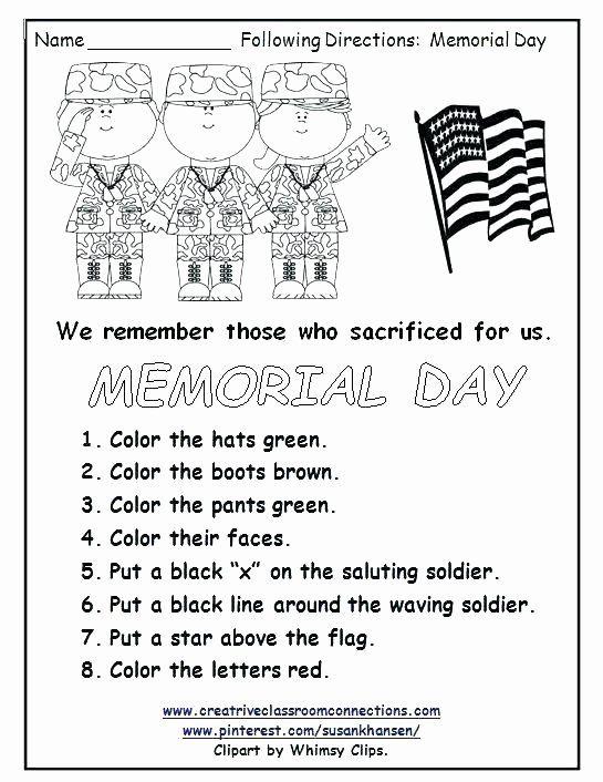 Veterans Day Math Worksheets Free Printable Worksheets