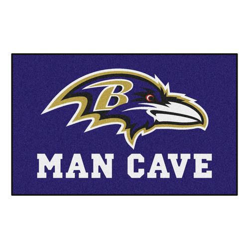 Baltimore Ravens 5' X 8' Man Cave Ulti-Mat Area Rug