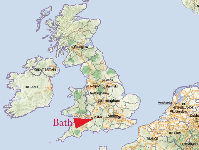 Bath England Map - AT&T Yahoo Image Search Results