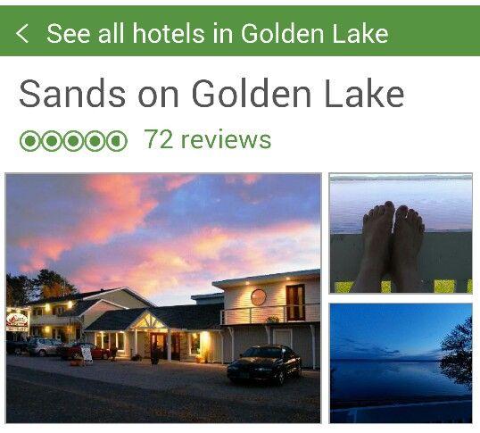 Sands on golden lake