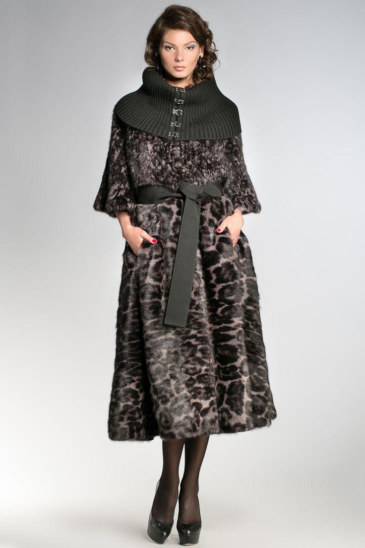 Пальто+пояс+воротник IGOR GULYAEV 17008-50