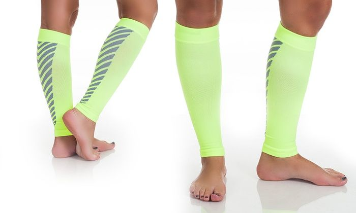 Pair of Remedy Calf Compression Sleeves | Groupon