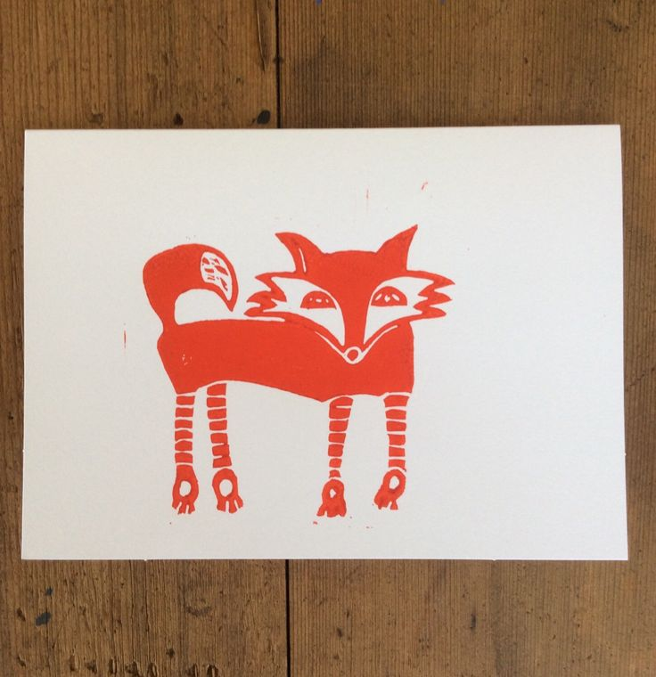 A personal favorite from my Etsy shop https://www.etsy.com/au/listing/470877638/red-fox-blank-greeting-card