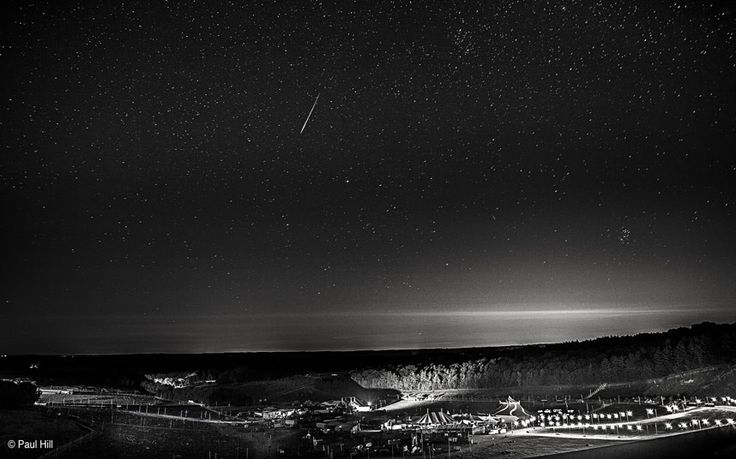 Watch a meteor shower/The best photos of the annual meteor shower lighting up the night's sky.
