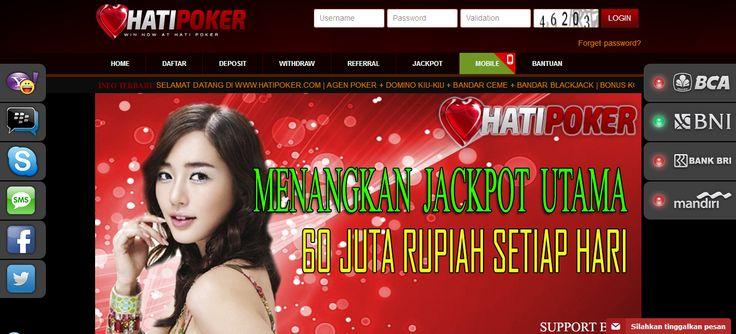 HATIPOKER – Agen Poker Online, DominoQQ Terpercaya