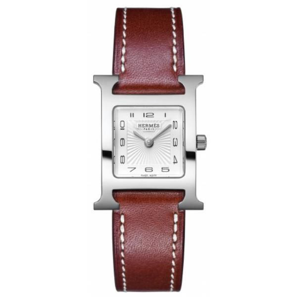 #Reloj #Hermes HORA H MM #watch #leather #time