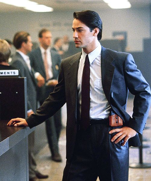 Keanu Reeves - Point Break....This is where i started noticing this Babe!!!