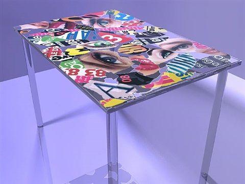 Table DADA by Antonio Cagianelli