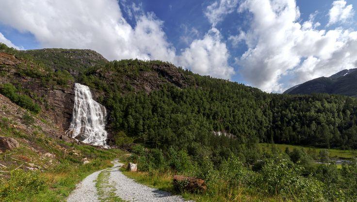 Road To The Waterfall by Eirik Sørstrømmen on 500px