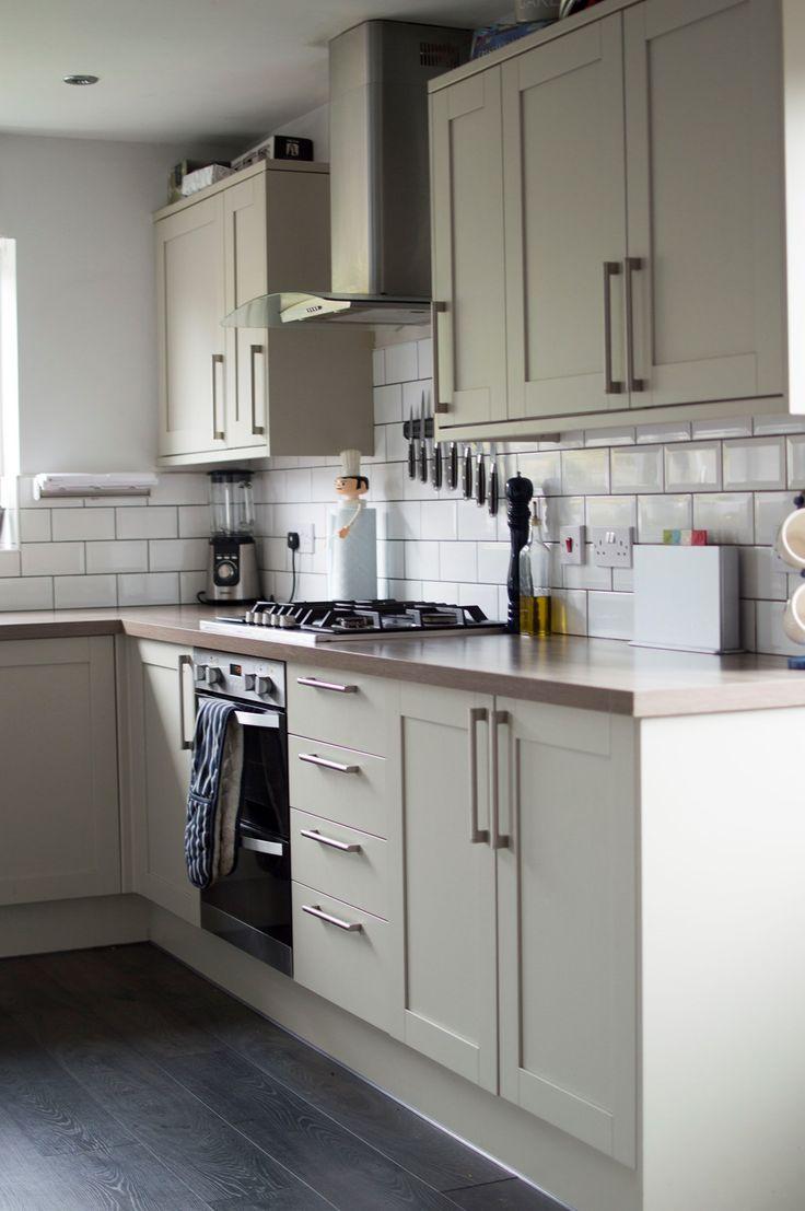 Kitchen Tour - greenwich shaker grey units
