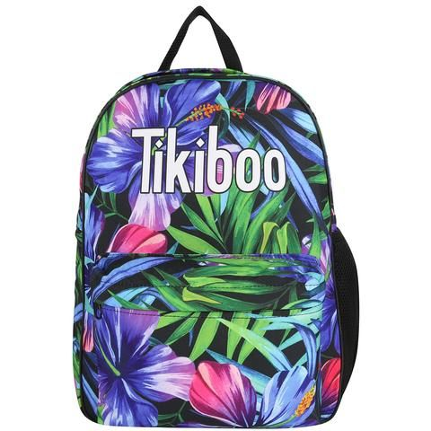 Tikiboo Tropical Flowers Bag #Activewear #Gymwear #FitnessLeggings #Leggings #Tikiboo #Running #Yoga
